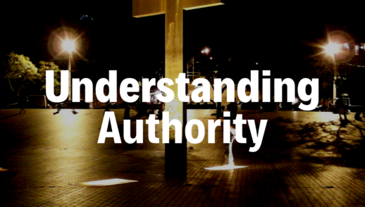 Understanding Authority - 5/12/19