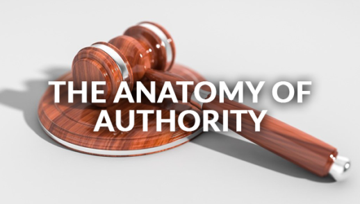 The Anatomy of Authority 1-12-2020
