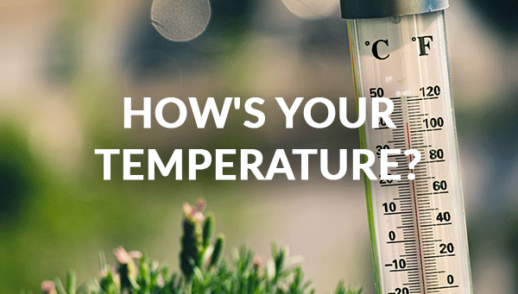 How's Your Temperature? (9-20-2020)